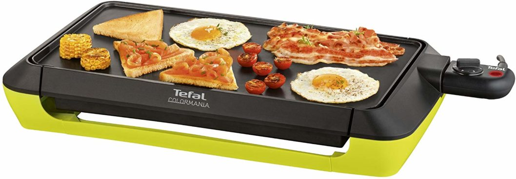 Tefal Plancha Colormania Plaque Anti-Adhésive XL Thermo-Spot 2000W
